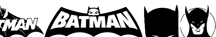 Batman Evolution Logo Font Font OTHER CHARS