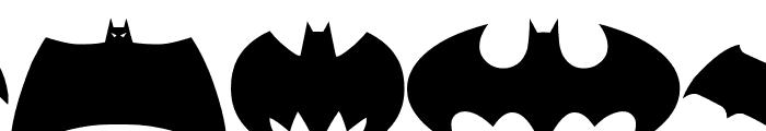 Batman Evolution Logo Font Font UPPERCASE
