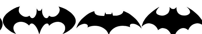 Batman Evolution Logo Font Font LOWERCASE