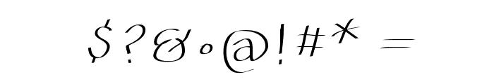 Batmania Font OTHER CHARS