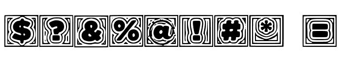 BatmansBadTrip Font OTHER CHARS