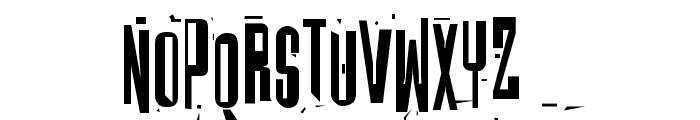 Batmos Regular Font UPPERCASE