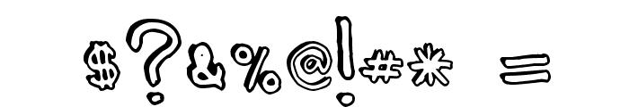 Batt Marber Font OTHER CHARS