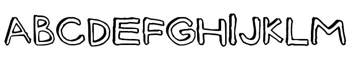 Batt Marber Font UPPERCASE