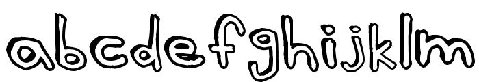 Batt Marber Font LOWERCASE