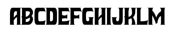 Battle Beasts Normal Font UPPERCASE