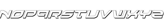 Battlefield Shadow Italic Font LOWERCASE