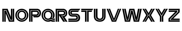 Battlestar Font UPPERCASE