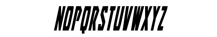 Battleworld Condensed Italic Font UPPERCASE