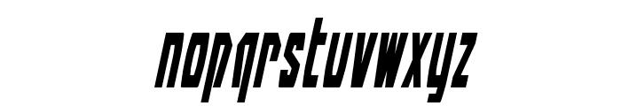 Battleworld Condensed Italic Font LOWERCASE