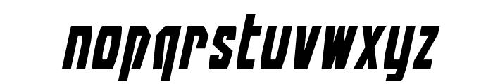 Battleworld Expanded Italic Font LOWERCASE