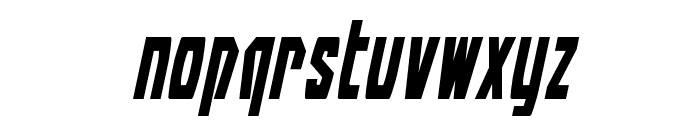 Battleworld Italic Font LOWERCASE