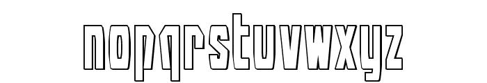 Battleworld Outline Font LOWERCASE