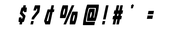 Battleworld Title Italic Font OTHER CHARS