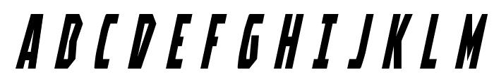 Battleworld Title Italic Font UPPERCASE