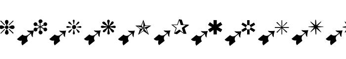 BatzBatz Font UPPERCASE