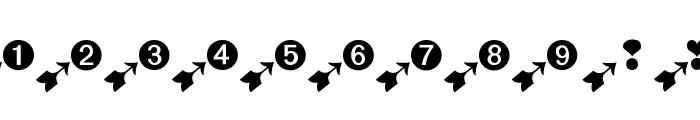 BatzBatz Font LOWERCASE