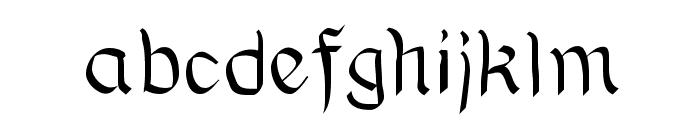 BauernFraktur Font LOWERCASE