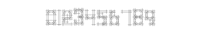 Bauhaus Sketch Font OTHER CHARS