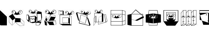 BauhausReminisce Font UPPERCASE