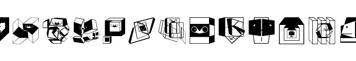 BauhausReminisce Font LOWERCASE