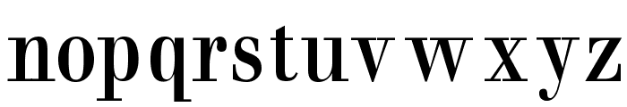 BaumWell Font LOWERCASE