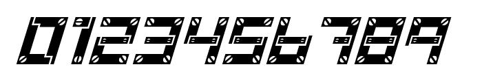 Baumarkt Italic Font OTHER CHARS