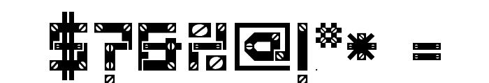 Baumarkt Font OTHER CHARS