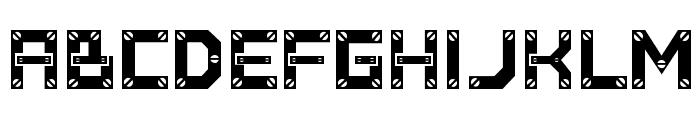 Baumarkt Font UPPERCASE