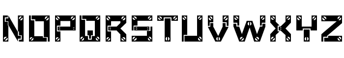 Baumarkt Font LOWERCASE