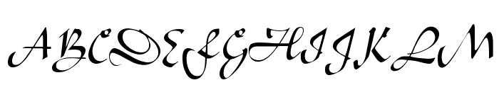 Bavand Regular Font UPPERCASE