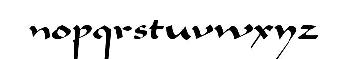 Bavand Regular Font LOWERCASE