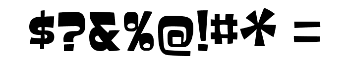 Baveuse-Regular Font OTHER CHARS