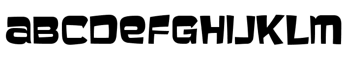 Baveuse-Regular Font UPPERCASE