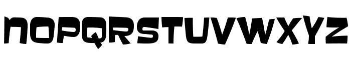Baveuse-Regular Font LOWERCASE