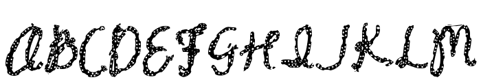 Baxter Dash Font UPPERCASE
