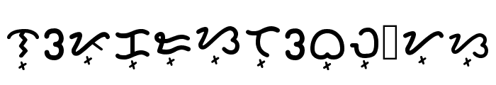 Baybayin Rounded Regular Font LOWERCASE
