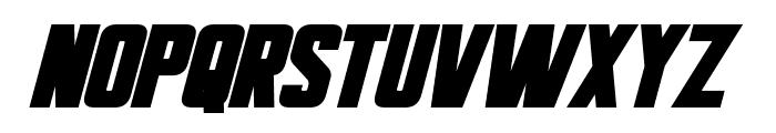 Bayformance Bold Italic Font UPPERCASE