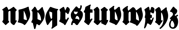 Bayreuth Font LOWERCASE