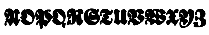 Bayreuther-BlaXXL Font UPPERCASE