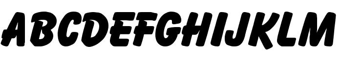 Bazooka Regular Font UPPERCASE
