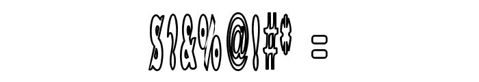 Bazzomba Font OTHER CHARS