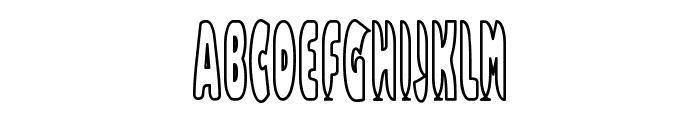 Bazzomba Font UPPERCASE
