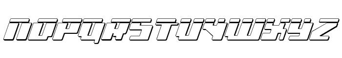 bad robot ital3dl Font UPPERCASE