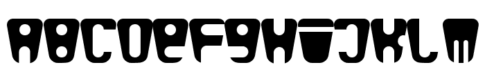 bald Font UPPERCASE