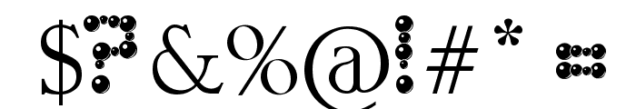 ballbearings Font OTHER CHARS