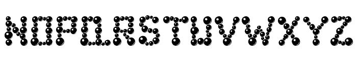 ballbearings Font LOWERCASE