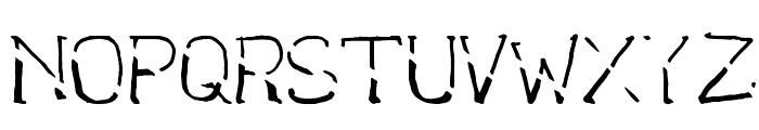 bantum caps Font UPPERCASE