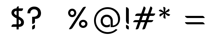 bauserif Font OTHER CHARS