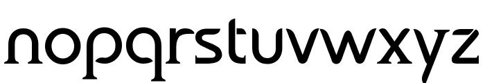bauserif Font LOWERCASE